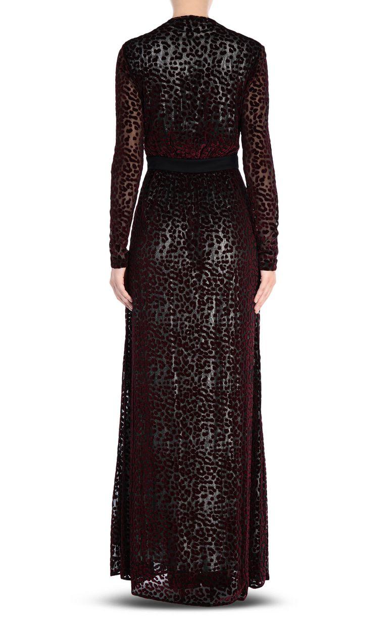 JUST CAVALLI Leopard-print maxi dress Long dress Woman d