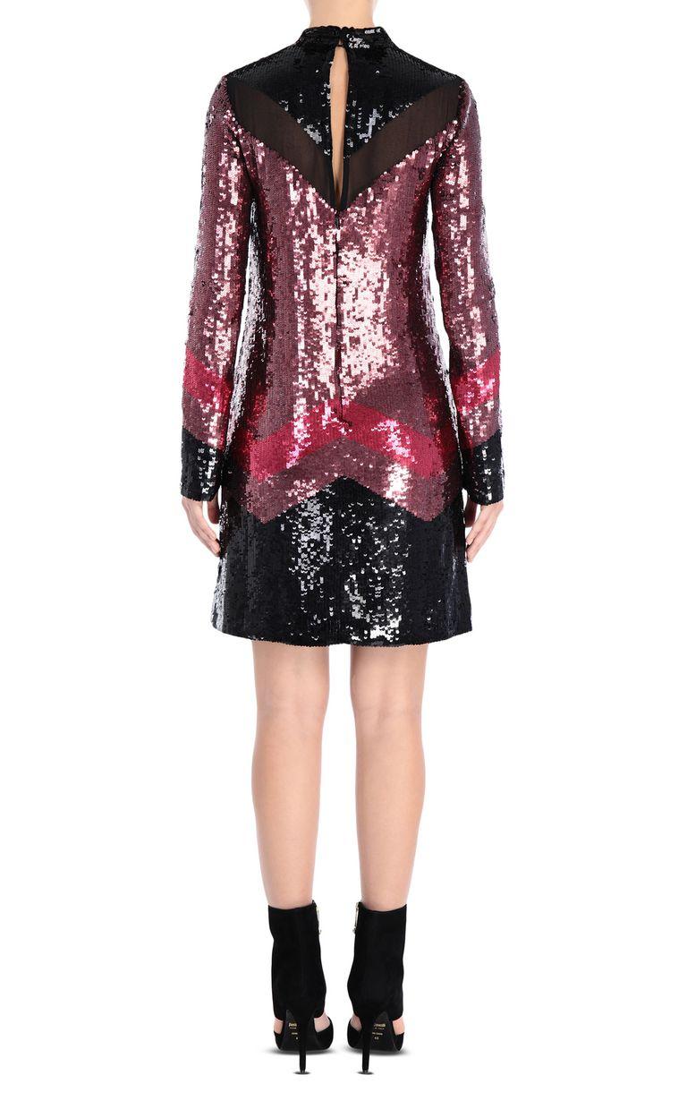 JUST CAVALLI Sequin mini dress Short dress Woman d