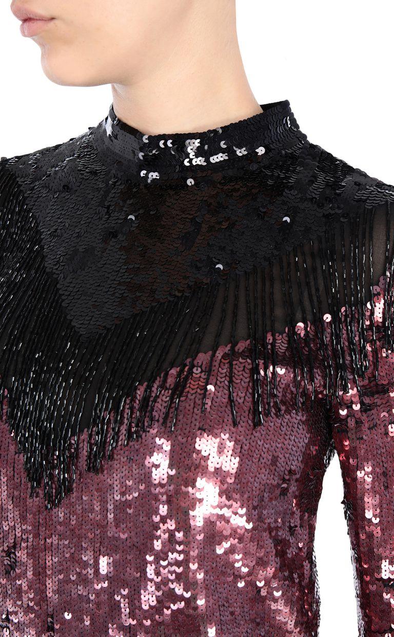 JUST CAVALLI Sequin mini dress Short dress Woman e