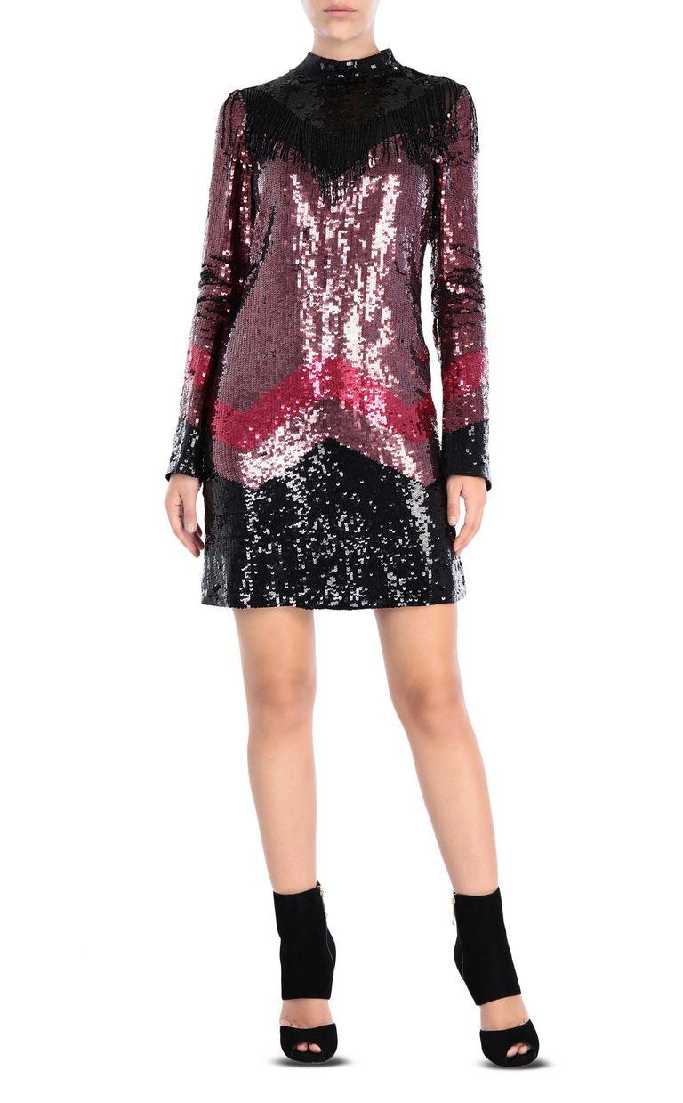 JUST CAVALLI Sequin mini dress Short dress Woman f