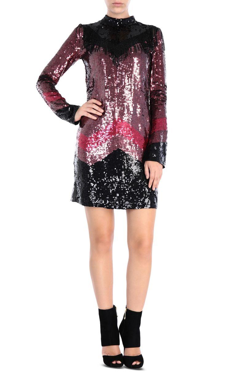 JUST CAVALLI Sequin mini dress Short dress Woman r