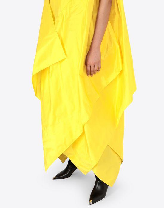 MAISON MARGIELA Silk taffeta maxi sports dress  Long dress [*** pickupInStoreShipping_info ***] b