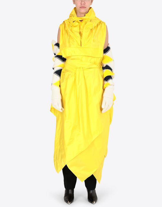 MAISON MARGIELA Silk taffeta maxi sports dress  Long dress [*** pickupInStoreShipping_info ***] d