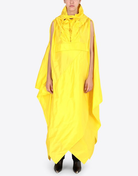 MAISON MARGIELA Silk taffeta maxi sports dress  Long dress [*** pickupInStoreShipping_info ***] r