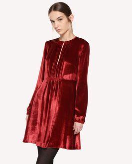 REDValentino 天鹅绒连衣裙