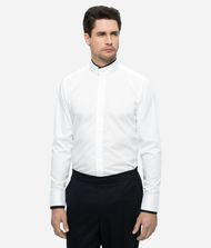 KARL LAGERFELD DOUBLE MAO COLLAR SHIRT  Shirt Man f