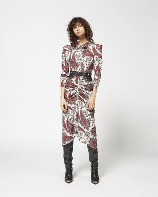 TIZY printed dress