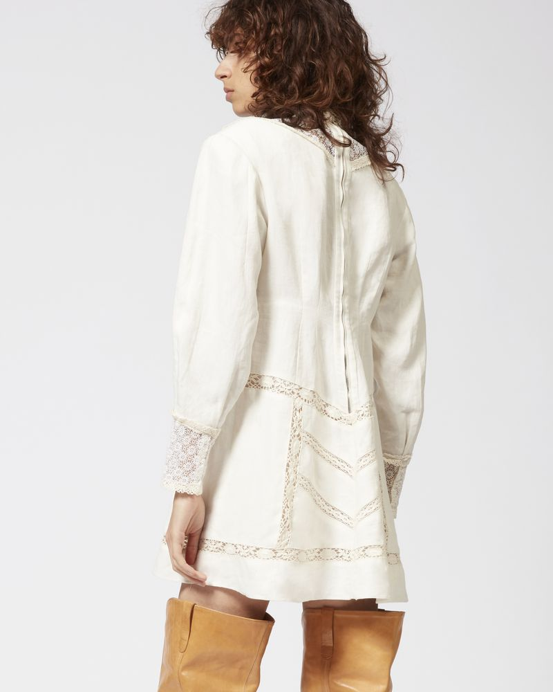 LOANE linen dress ISABEL MARANT