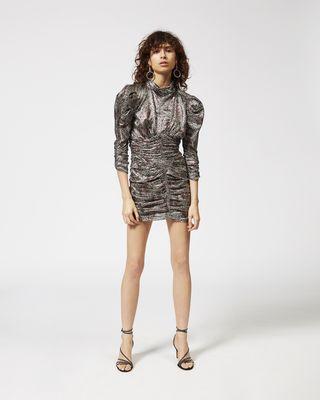 PANDOR silver tone dress