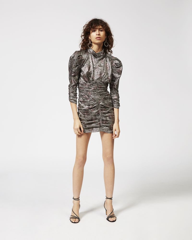 PANDOR silver tone dress ISABEL MARANT