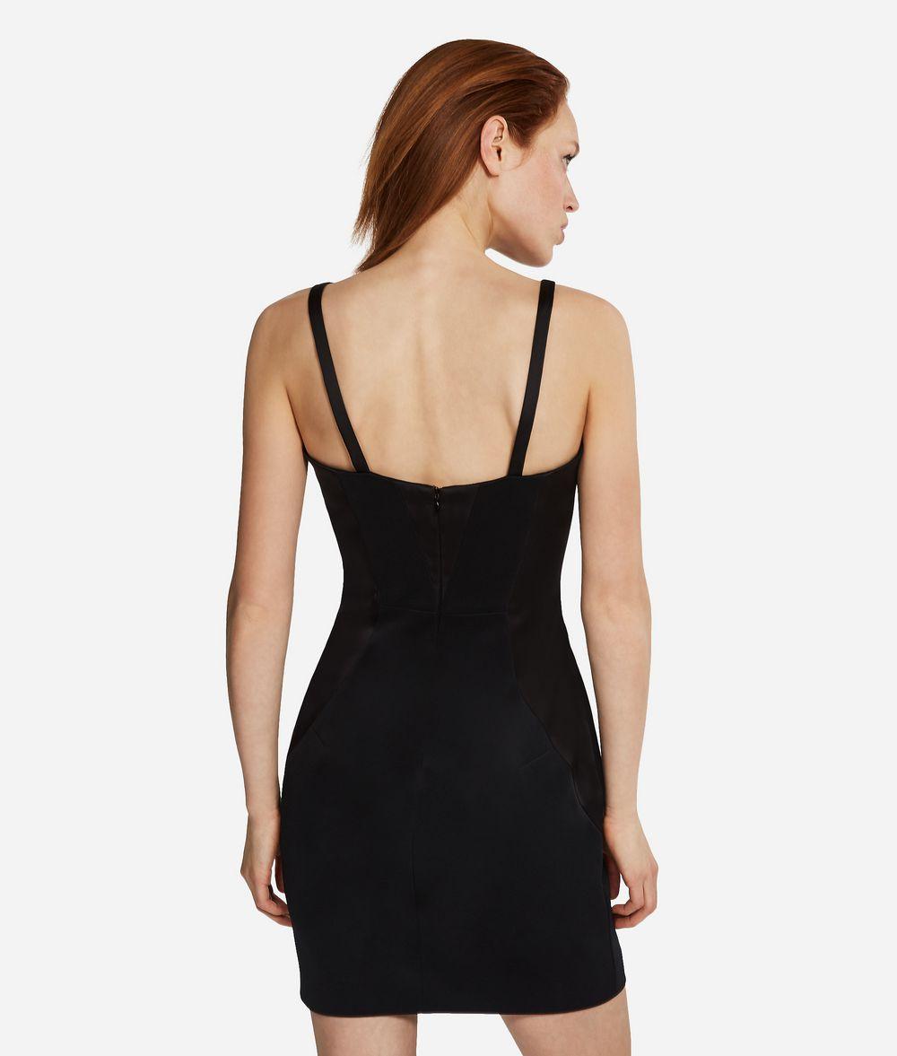 KARL LAGERFELD Kleines schwarzes Abendkleid Kleid Damen d