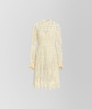 DRESS IN SILK LACE