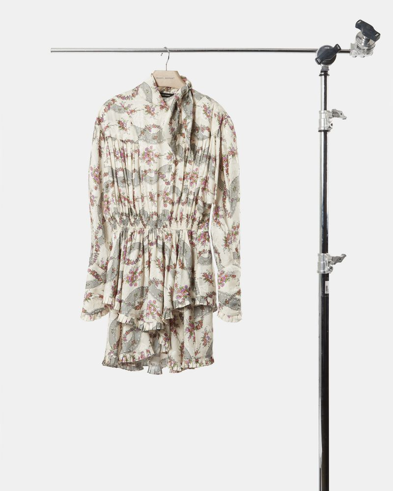 JOSEPHINE printed dress ISABEL MARANT