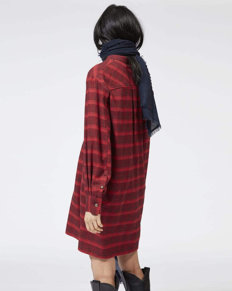 DANCY cotton shirt dress ISABEL MARANT ÉTOILE