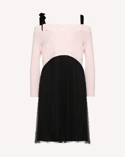 REDValentino Knit Dress Woman QR0KD12045Y 377 a