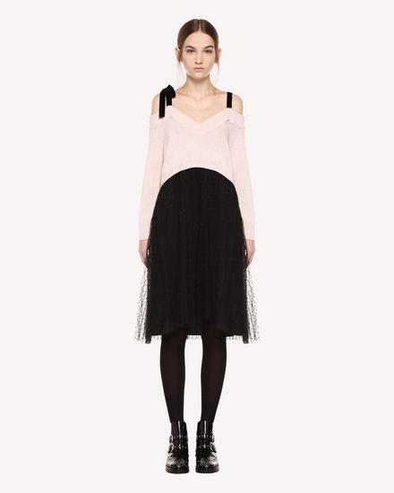 REDValentino Knit Dress Woman QR0KD12045Y 377 f