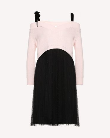 REDValentino QR0KD12045Y 377 Knit Dress Woman a