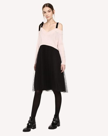 REDValentino QR0KD12045Y 377 Knit Dress Woman d