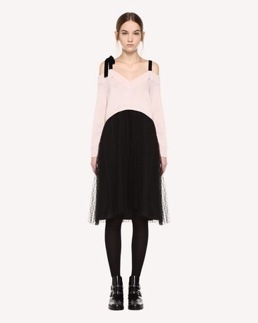 REDValentino QR0KD12045Y 377 Knit Dress Woman f
