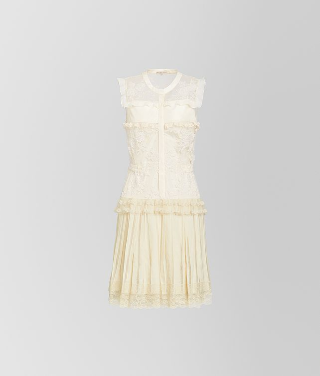 BOTTEGA VENETA DRESS IN SILK LACE Dress [*** pickupInStoreShipping_info ***] fp