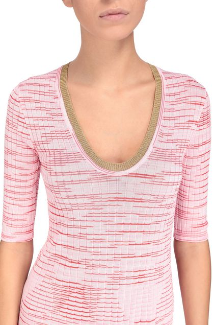 M MISSONI Dress Pink Woman - Front