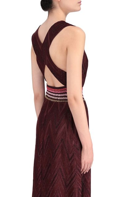 M MISSONI Long dress Garnet Woman - Front