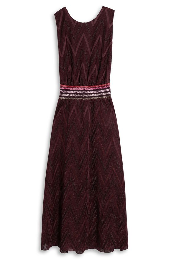 M MISSONI Long dress Garnet Woman