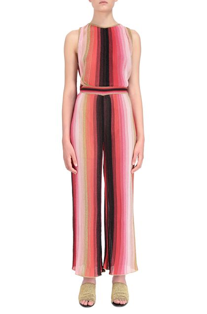 M MISSONI Jumpsuit Coral Woman - Back