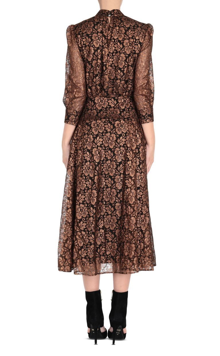 JUST CAVALLI Lurex lace dress 3/4 length dress Woman d