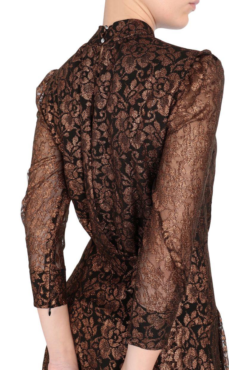 JUST CAVALLI Lurex lace dress 3/4 length dress [*** pickupInStoreShipping_info ***] e