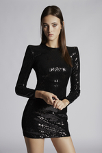 DSQUARED2 Sequined Emmalynn Dress Dress Woman