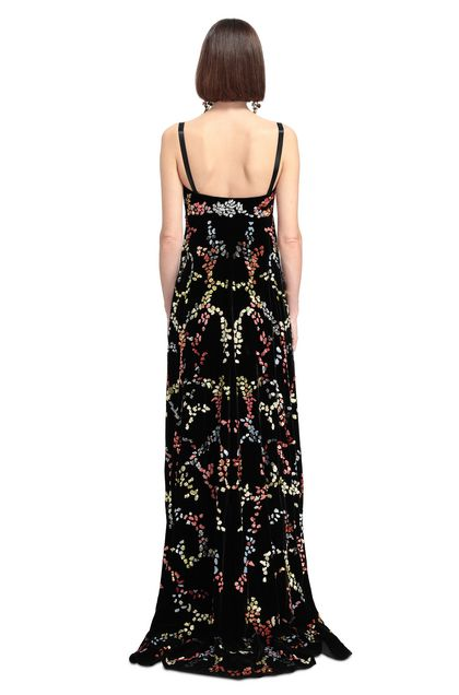 MISSONI Long dress Black Woman - Front