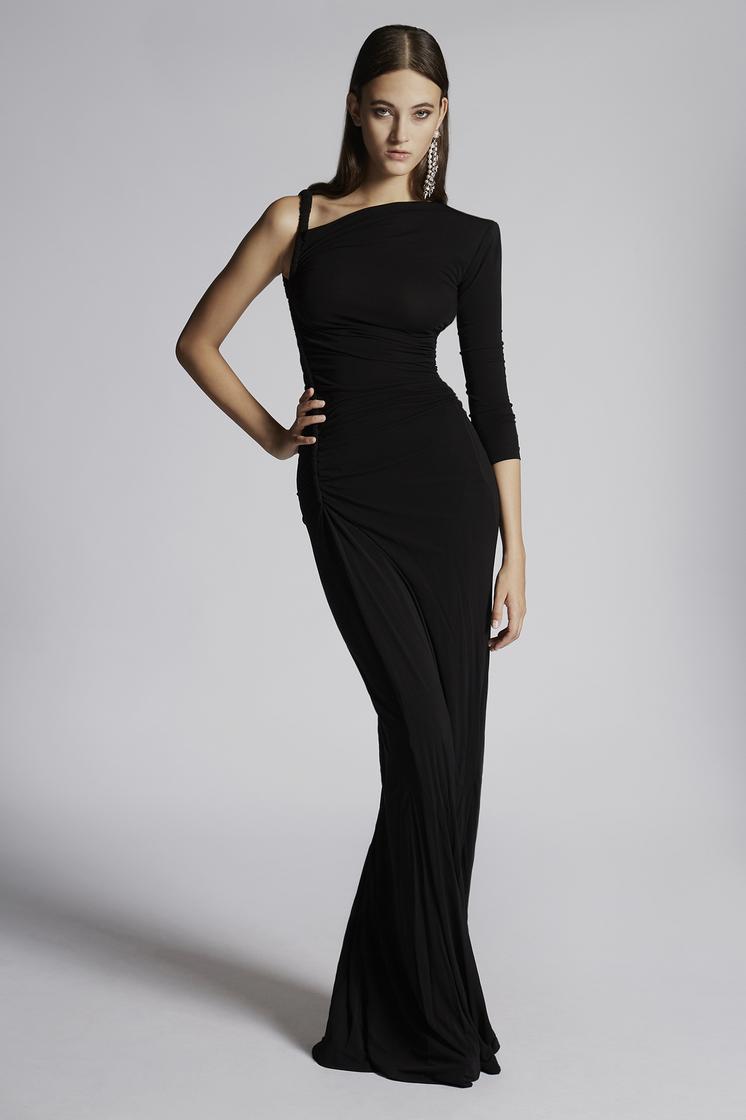 DSQUARED2 Light Viscose Long Dress Dress Woman