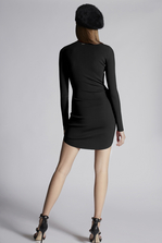 DSQUARED2 Viscose Long Sleeved Dress Dress Woman