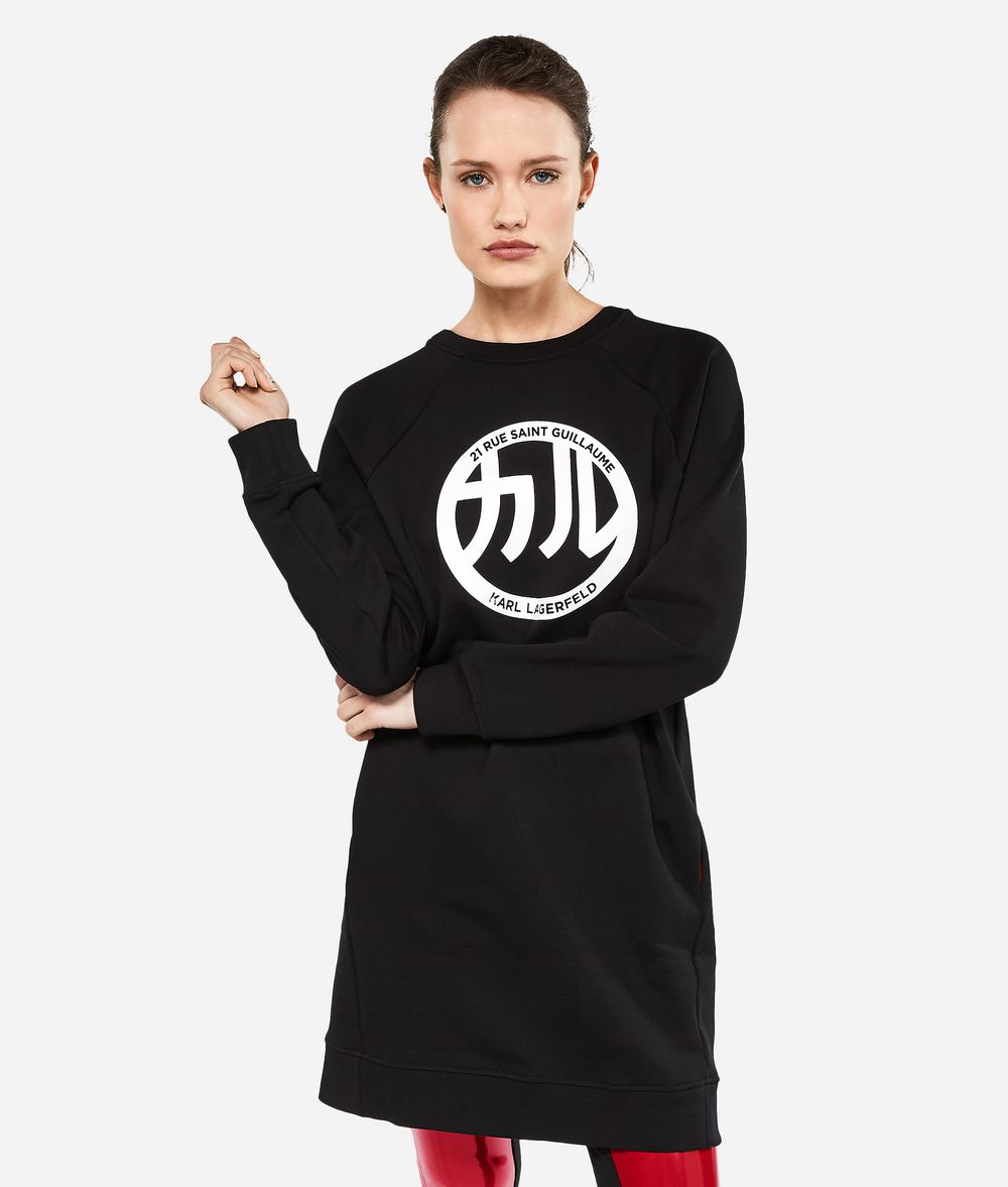 KARL LAGERFELD K/Tokyo Sweatshirt-Kleid Kleid Damen f