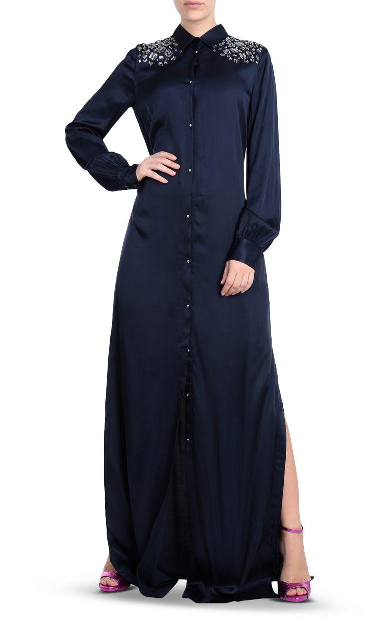 JUST CAVALLI Shirtdress with stud detailing Dress [*** pickupInStoreShipping_info ***] d