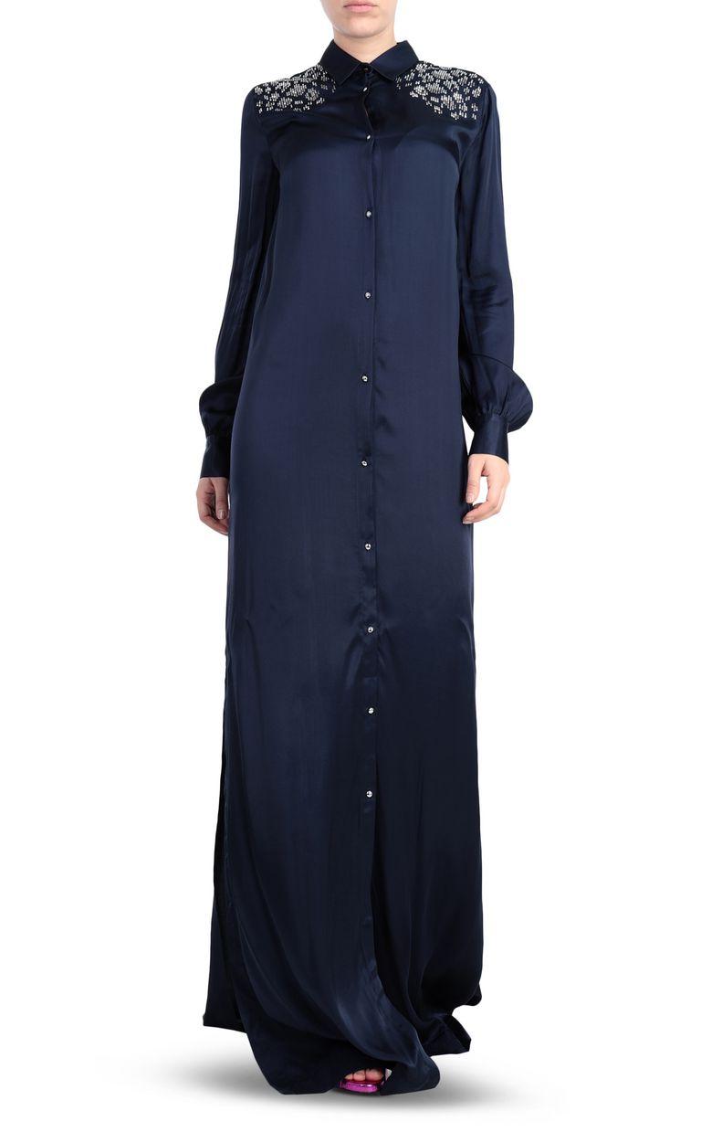 JUST CAVALLI Shirtdress with stud detailing Dress [*** pickupInStoreShipping_info ***] r