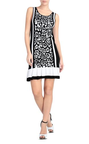 JUST CAVALLI Dress [*** pickupInStoreShipping_info ***] Short dress with python print f