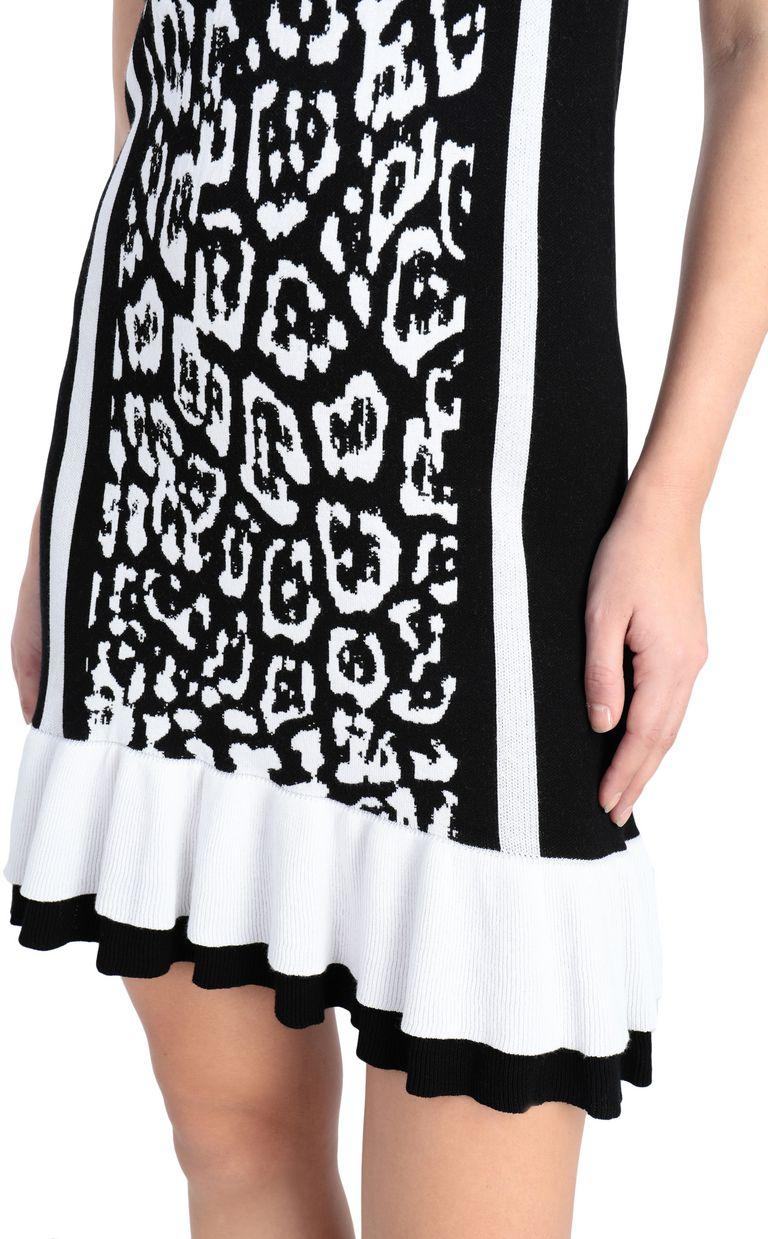 JUST CAVALLI Short dress with leopard print Short dress Woman e