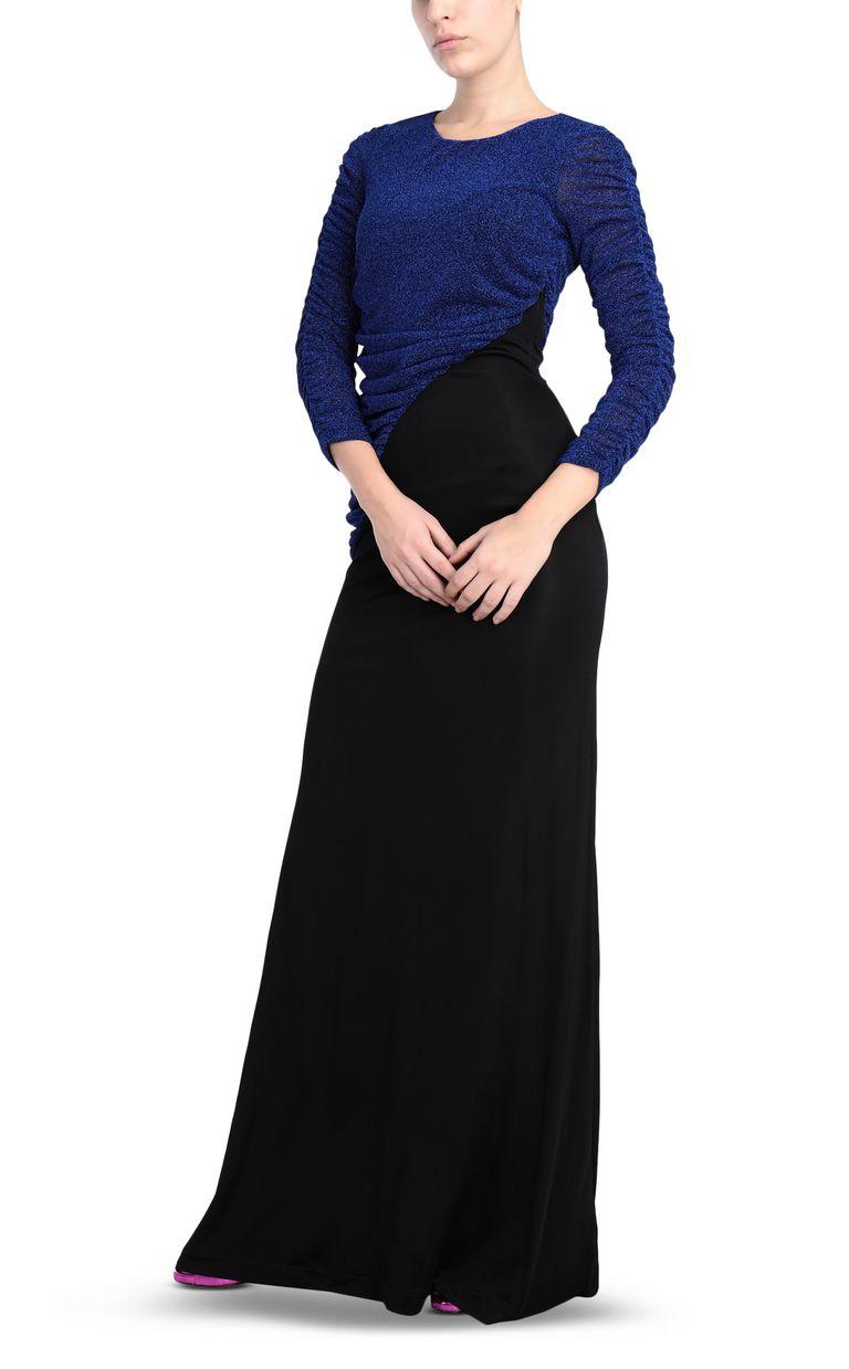 JUST CAVALLI Long lurex dress Long dress Woman d
