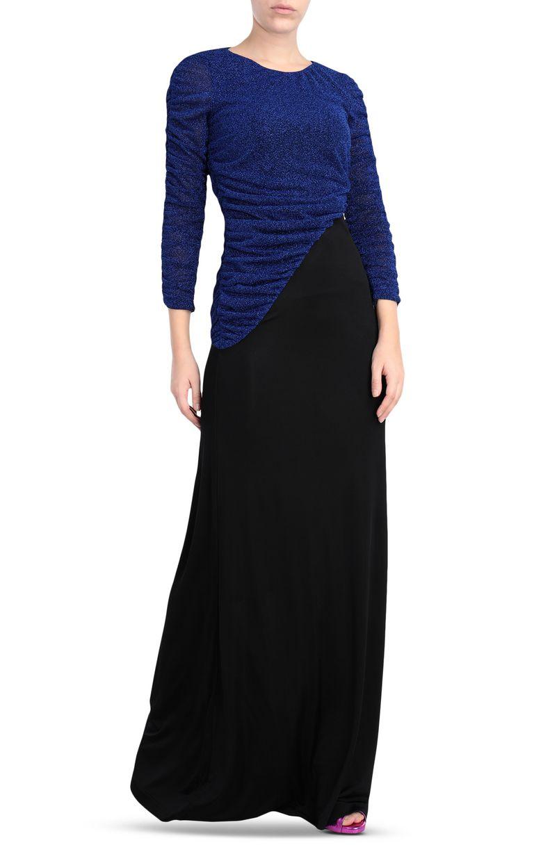 JUST CAVALLI Long lurex dress Long dress Woman r