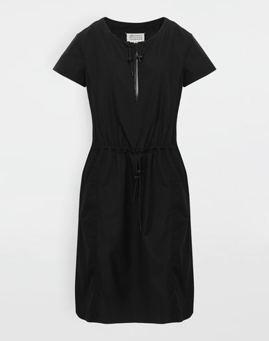 MAISON MARGIELA 3/4 length dress [*** pickupInStoreShipping_info ***] Cotton-poplin day dress f