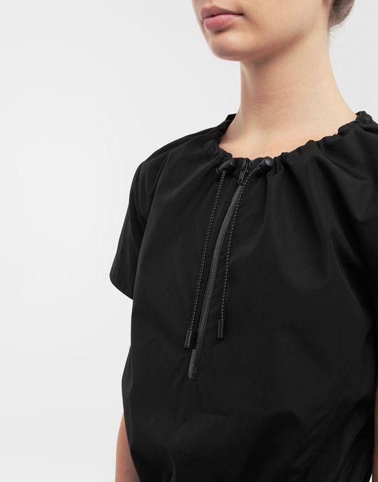 MAISON MARGIELA Cotton-poplin day dress 3/4 length dress [*** pickupInStoreShipping_info ***] a
