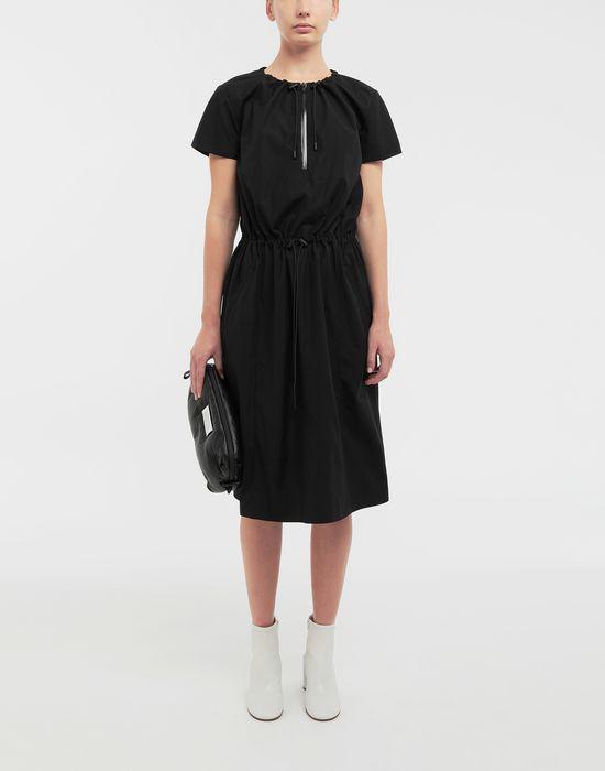 MAISON MARGIELA Cotton-poplin day dress 3/4 length dress [*** pickupInStoreShipping_info ***] d