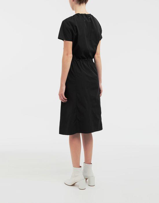 MAISON MARGIELA Cotton-poplin day dress 3/4 length dress [*** pickupInStoreShipping_info ***] e