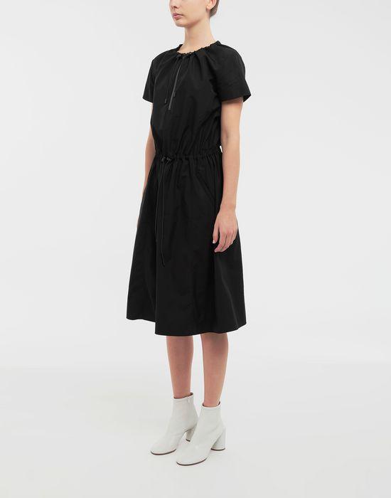 MAISON MARGIELA Cotton-poplin day dress 3/4 length dress [*** pickupInStoreShipping_info ***] r