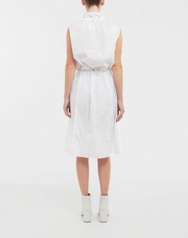 DRESSES Cotton-poplin outerwear dress