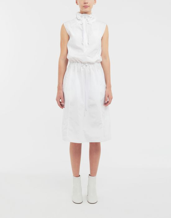 MAISON MARGIELA Cotton-poplin outerwear dress 3/4 length dress [*** pickupInStoreShipping_info ***] r