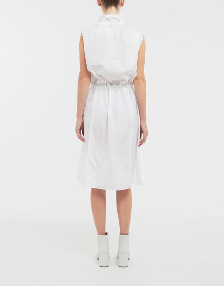 MAISON MARGIELA Cotton-poplin outerwear dress 3/4 length dress Woman e