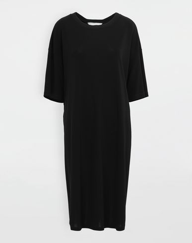 MAISON MARGIELA Short dress [*** pickupInStoreShipping_info ***] Ruched back jersey day dress f